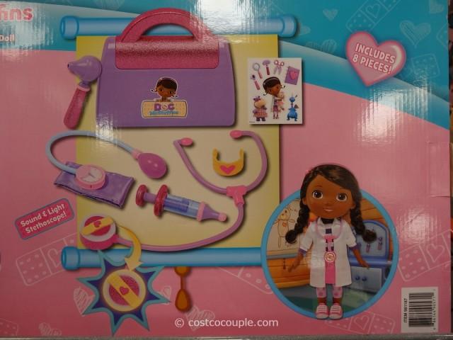 Doc McStuffins Doll and Medical Bag Set Costco 5