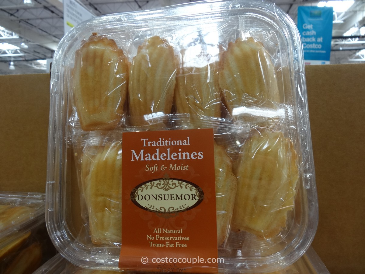 Donsuemor Traditional Madeleines Costco 1