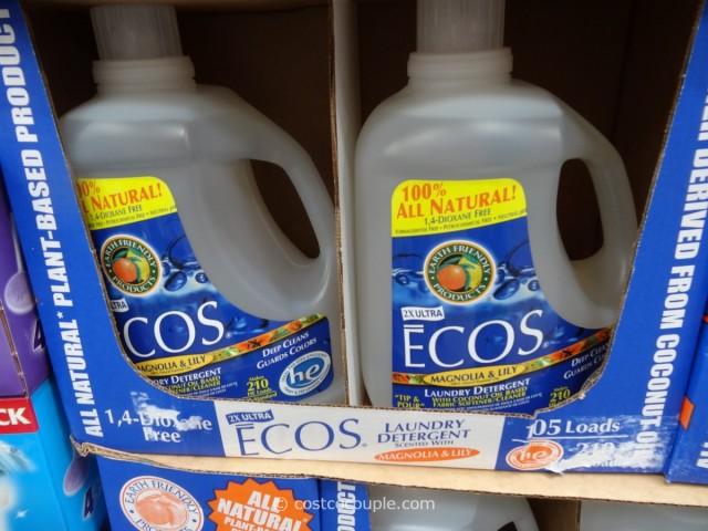 Ecos Ultra Liquid Laundry Detergent Costco 2