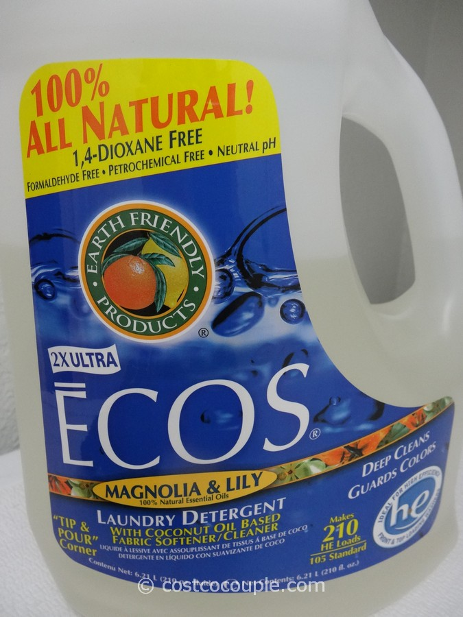 Ecos Ultra Liquid Laundry Detergent Costco 4