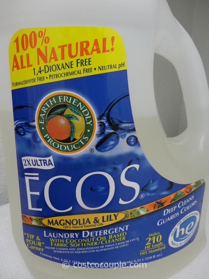 Ecos Ultra Liquid Laundry Detergent Costco 4