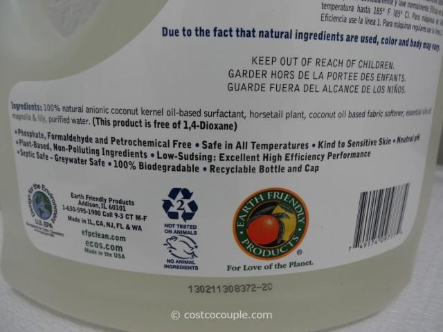 Ecos Ultra Liquid Laundry Detergent Costco 6