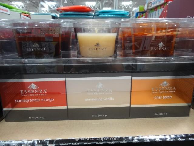 Essenza 3Pack Glass Jar Candle Set Costco 4