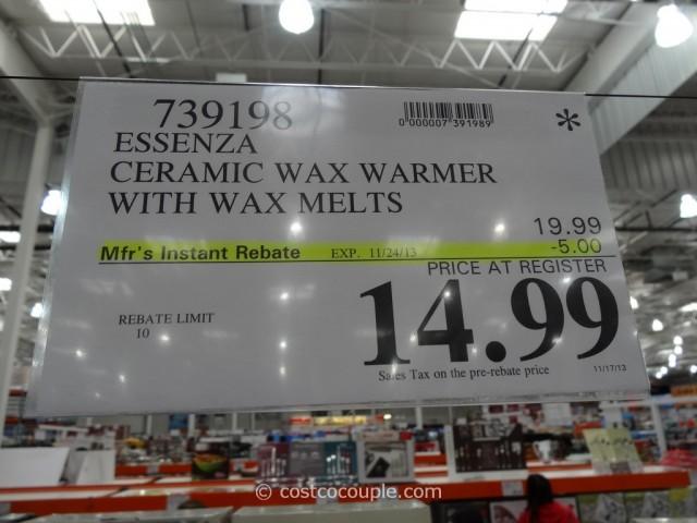 Essenza Ceramic Scented Wax Warmer Costco