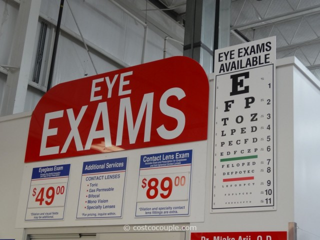 Eye Exams Costco 1