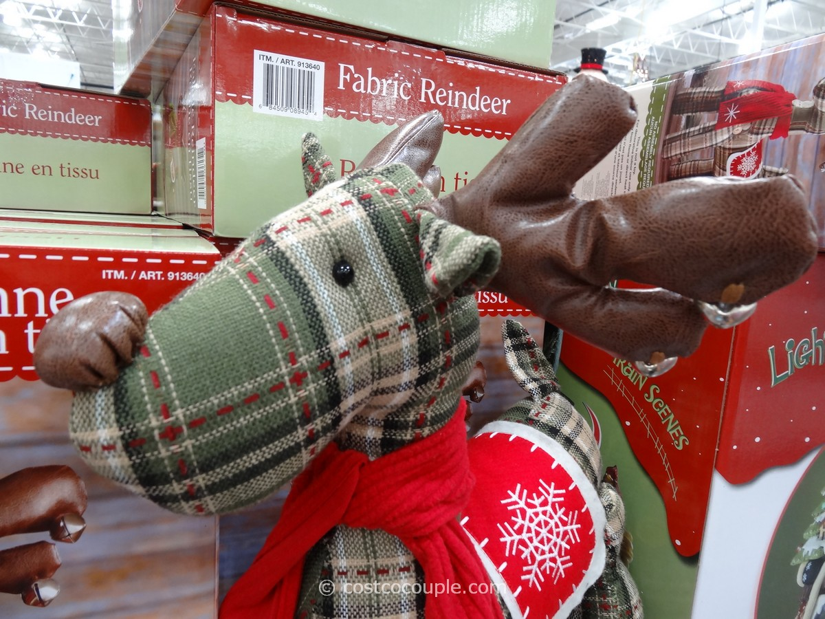 Fabric Reindeer Costco 3