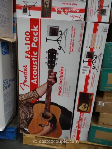 Fender Acoustic Guitar Costco 1