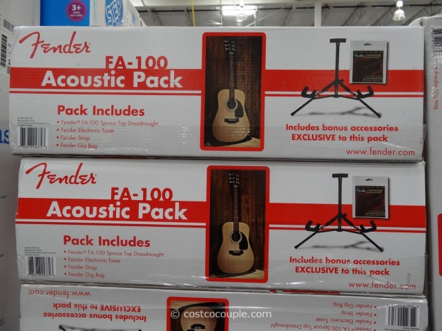 Fender Acoustic Guitar Costco 2