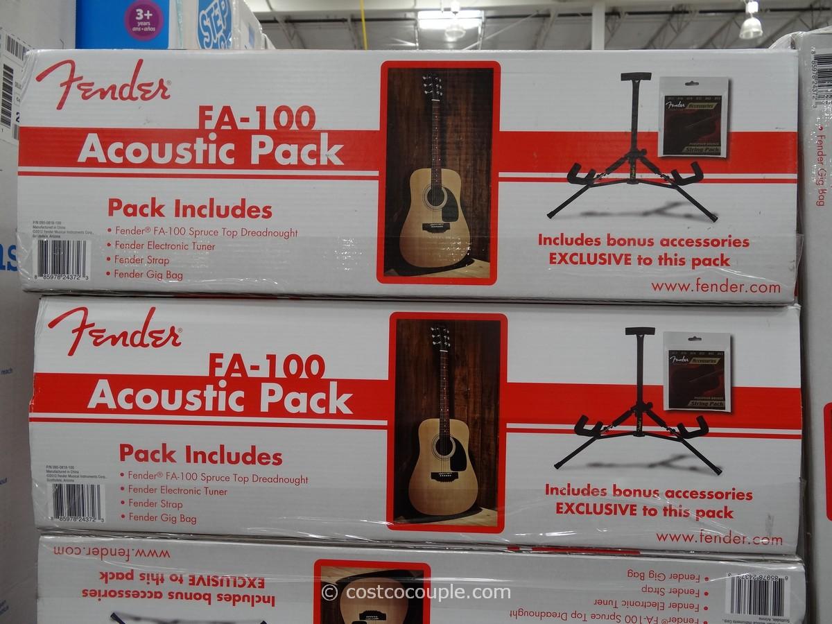 Fender Acoustic Guitar Fa 100