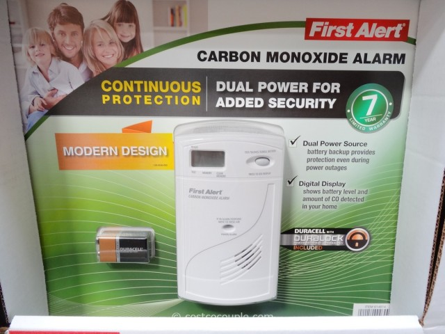First Alert Digital Carbon Monoxide Alarm Costco 1