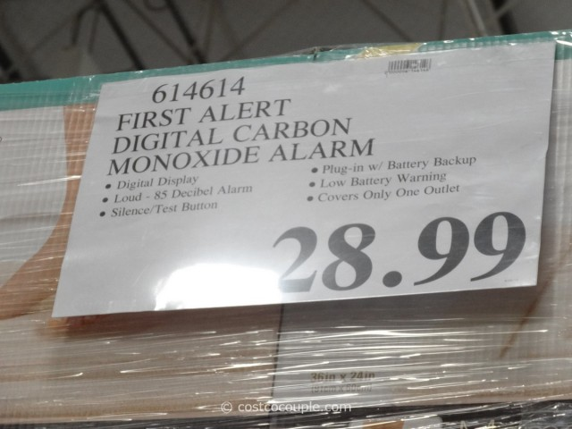 First Alert Digital Carbon Monoxide Alarm Costco 3