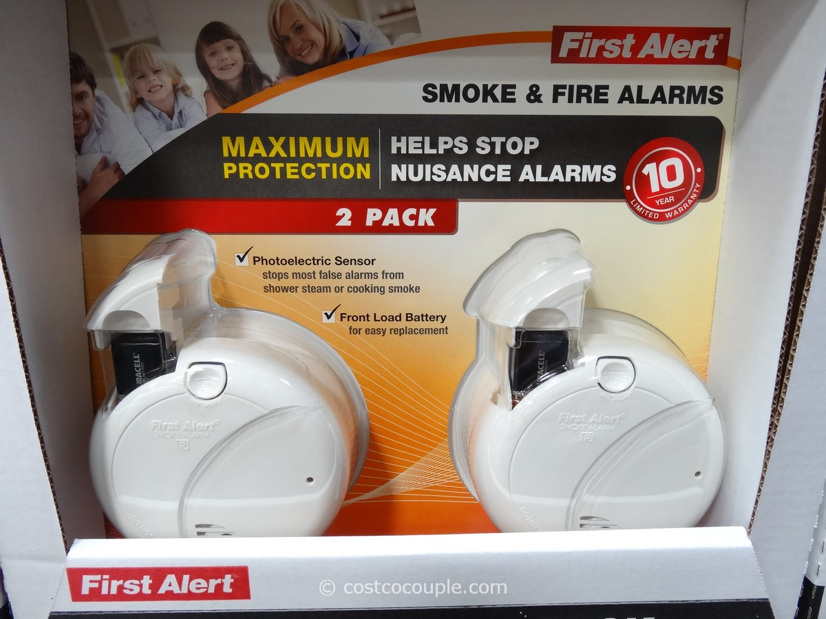 first alert fire and smoke alarm costco 1 - First Alert Smoke Alarm