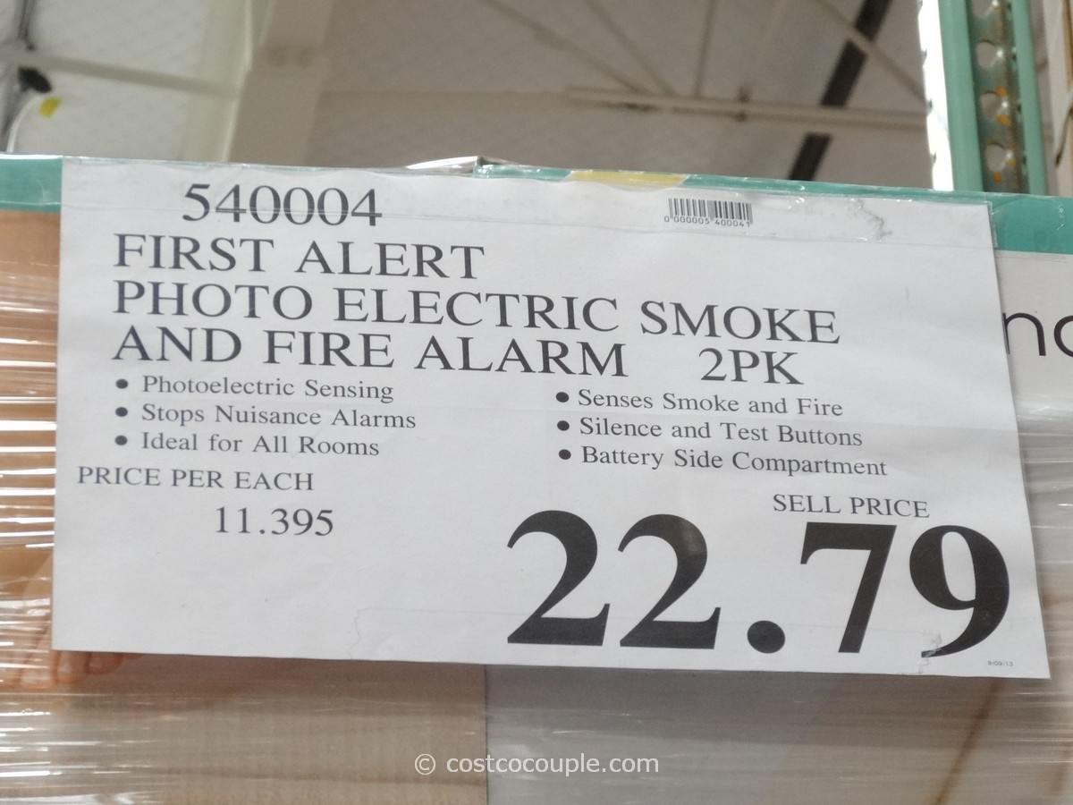 first alert photoelectric fire and smoke alarms