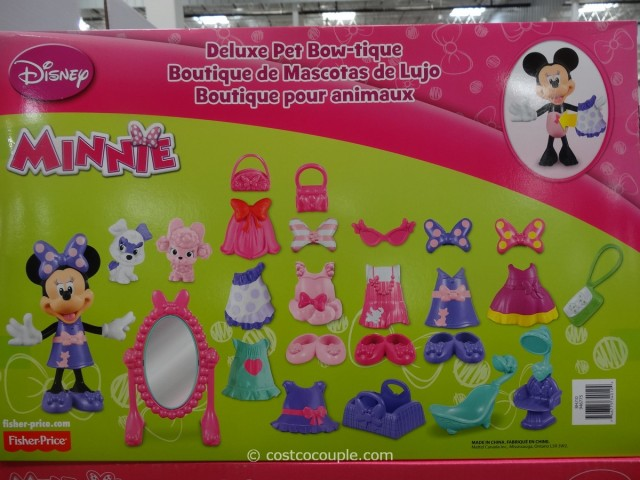 Fisher Price Minnie Mouse Deluxe Pet Bow Tique