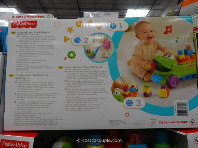 Fisher-Price Musical Croc Block Wagon Costco 2