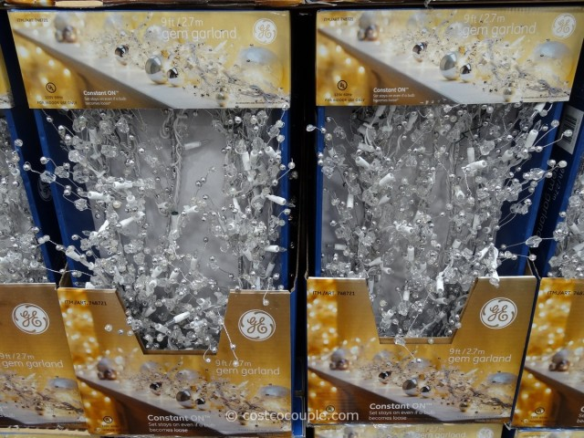 GE Glitter Gem Garland Costco 2