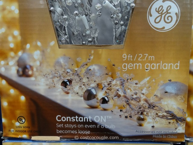 GE Glitter Gem Garland Costco 3