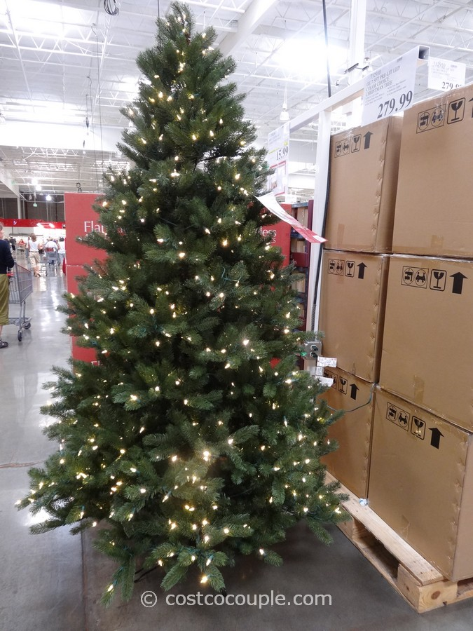 Costco Christmas Trees 2020 GE 7.5 Feet Prelit LED Christmas Tree