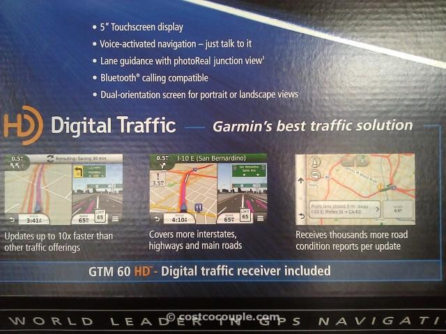 Garmin Nuvi 5-inch GPS with Traffic Receiver Costco 2