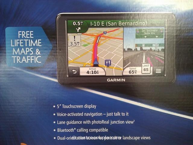 Garmin Nuvi 5-inch GPS with Traffic Receiver Costco 3