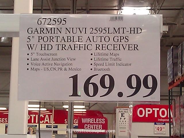 Garmin Nuvi 5-inch GPS with Traffic Receiver Costco 4