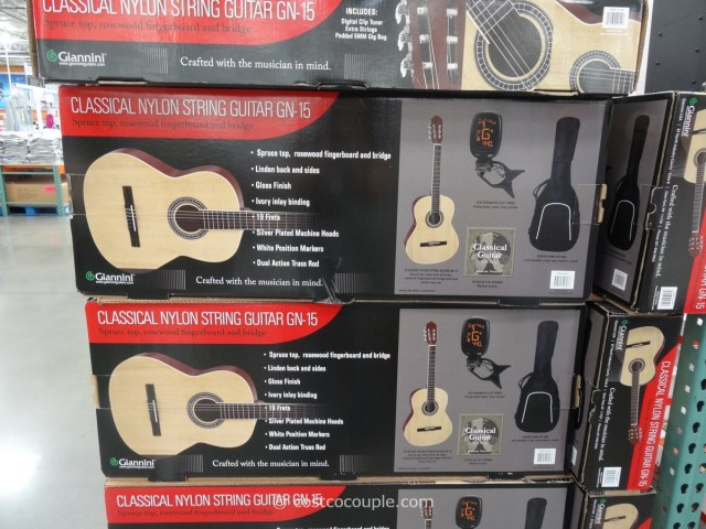Giannini Classical Guitar Costco 1