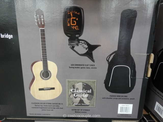 Giannini Classical Guitar Costco 2