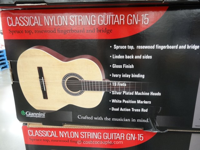 Giannini Classical Guitar Costco 3