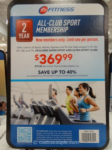 Dec 30, · It should be pointed out that existing 24 Hour Fitness members can't go and buy the Costco deal. The Costco deal is good at Sport Clubs or the rungs below — Active and Express.