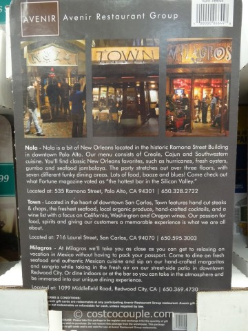 Nola restaurant coupons