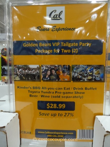 Gift Card Cal Bears Football Costco 3