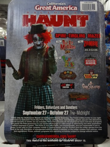 Gift Card Great America Halloween Costco 4