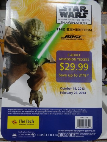 Gift Card Star Wars Exhibit Costco 1