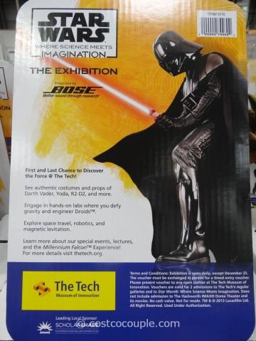 Gift Card Star Wars Exhibit Costco 2