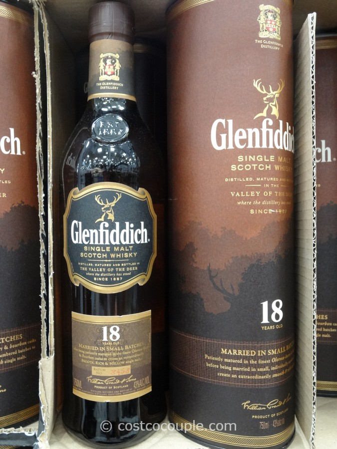 Glenfiddich 18 Year Single Malt Scotch Costco 1