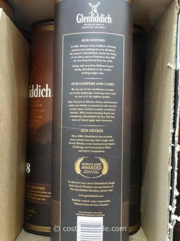 Glenfiddich 18 Year Single Malt Scotch Costco 3