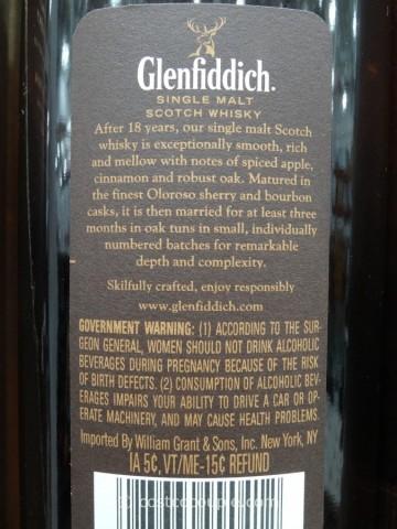 Glenfiddich 18 Year Single Malt Scotch Costco 4