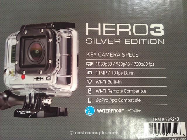 GoPro Hero3 Silver Edition Camera Costco 2