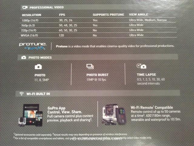 GoPro Hero3 Silver Edition Camera Costco 5