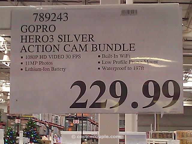 GoPro Hero3 Silver Edition Camera Costco 6