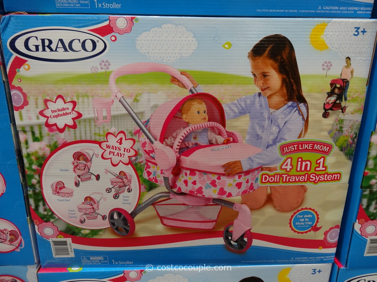 Graco 4-In-1 Doll Travel System Costco 1
