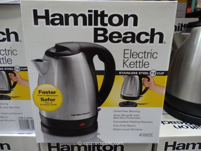 Hamilton Beach Stainless Steel Electric Kettle Costco 1