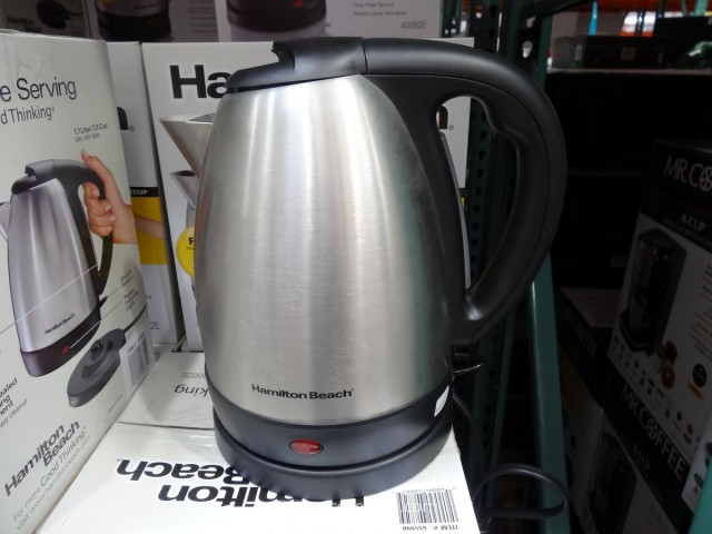 hamilton beach stainless steel electric kettle. Black Bedroom Furniture Sets. Home Design Ideas