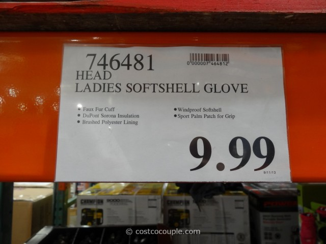 Head Ladies Soft Shell Gloves Costco 1