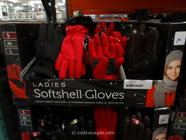 Head Ladies Soft Shell Gloves Costco 2