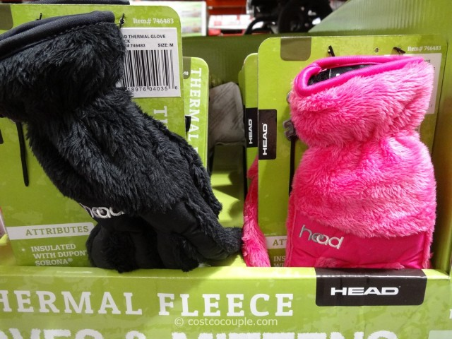 Head Thermal Fleece Ski Gloves and Toddler Mittens Costco 1