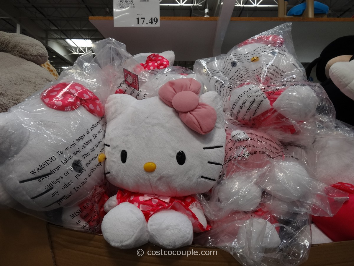 Hello Kitty Plush Toy Costco 2