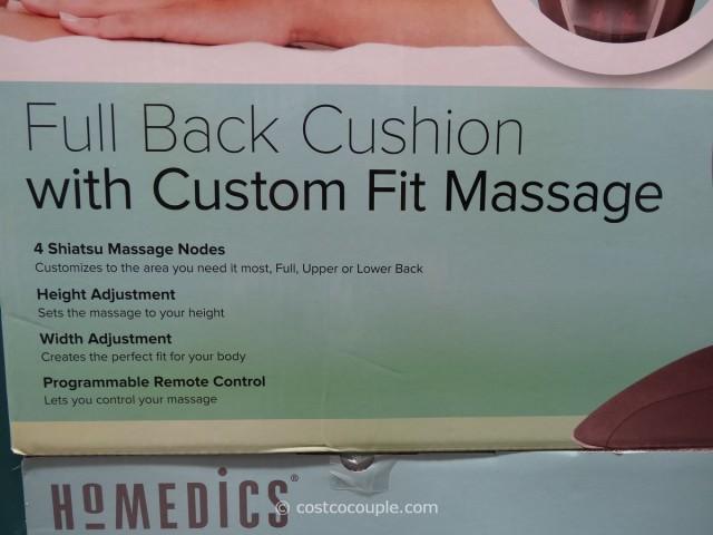 Homedics Shiatsu Back Massage Cushion Costco 3