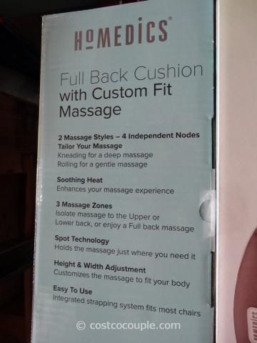 Homedics Shiatsu Back Massage Cushion Costco 4