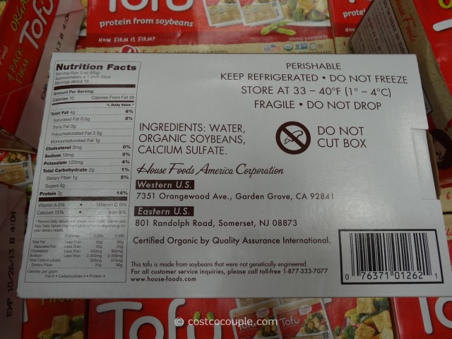 House Foods Organic Tofu Costco 2